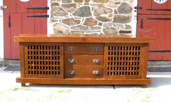 Strictly Mission TV Lift Cabinet