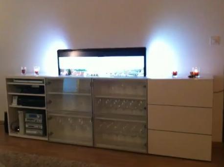 TV Lift Lighting