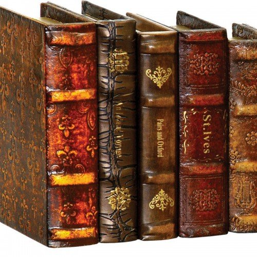 Faux Leather Bound Books