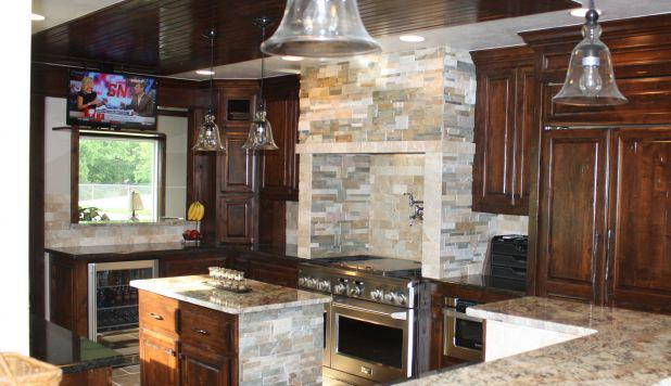 We Can Build Kitchen TV Under Cabinet & Counter