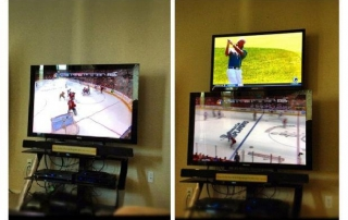Dual TV Setup