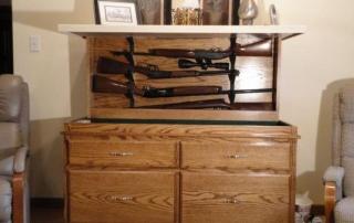 Hidden Rifle Cabinet