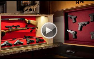 hidden gun storage