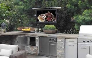 outdoor tv lift