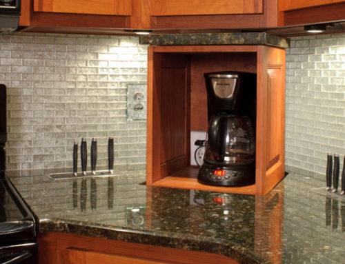 Small Kitchen TV Ideas & Appliance Lift Ideas