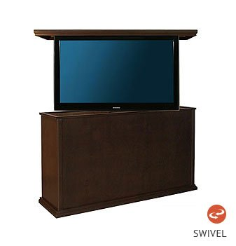 Cabinet with Swivel TV Lift