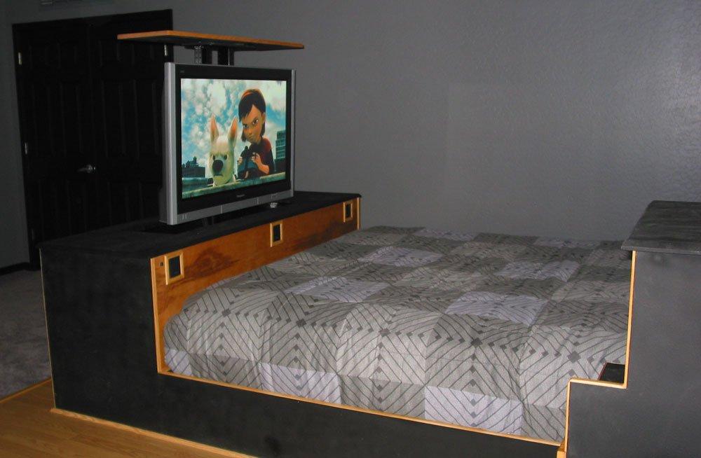 diy tv lift do it yourself tv lift project nexus 21. Black Bedroom Furniture Sets. Home Design Ideas