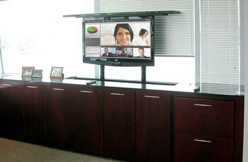 Pop Up Teleconference Screen