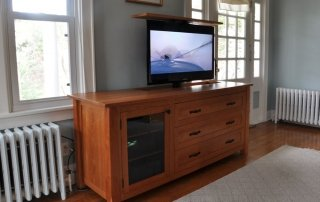 Media Cabinet with Hidden TV