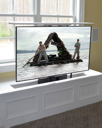 TV Hidden in Trunk