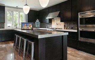 Sleek Kitchen TV Lift