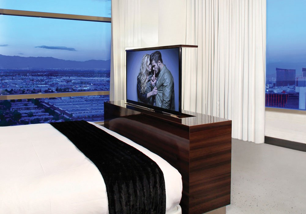 Hotel TV Lift Cabinet