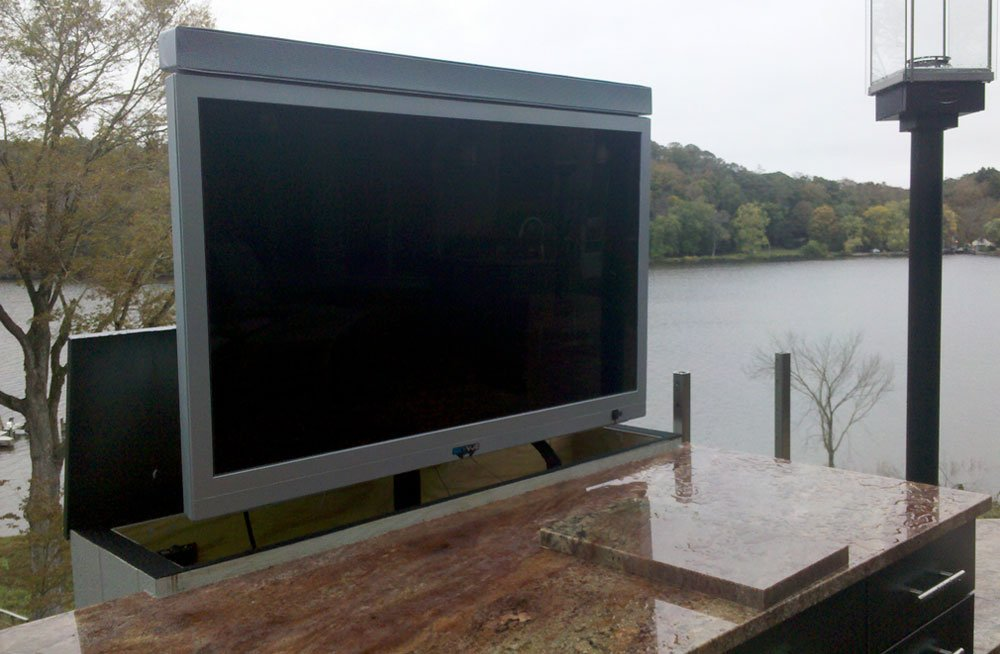 Outside Tv Mount Outdoor Tv Area Amp Entertainment Room