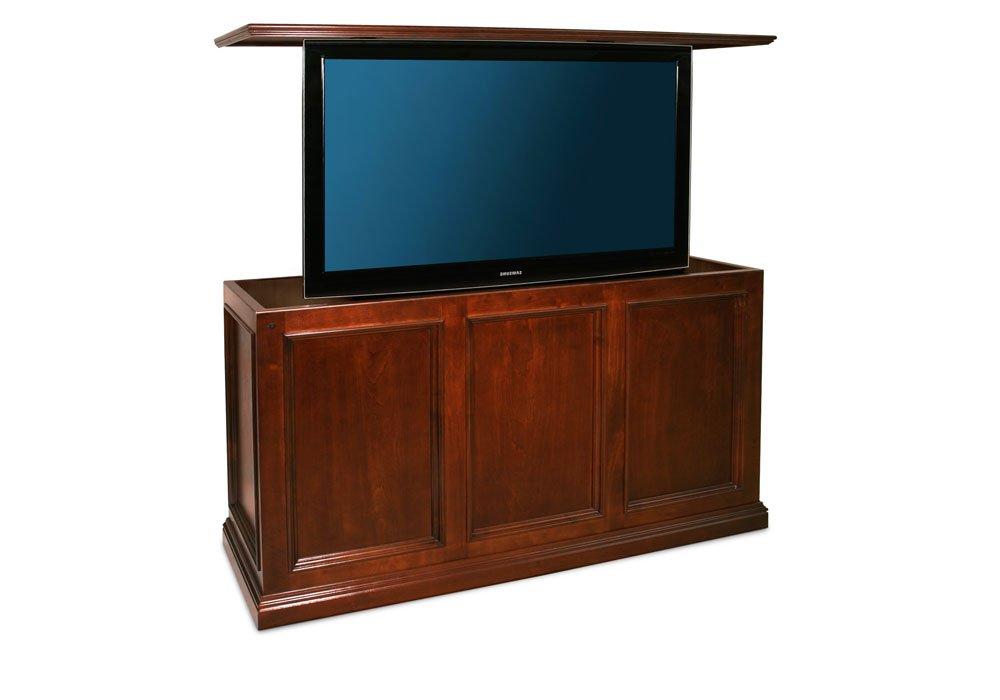 pop up swivel tv lift cabinet. Black Bedroom Furniture Sets. Home Design Ideas