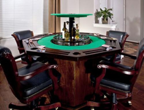 Concept Piece: Hidden Bar in Poker Table