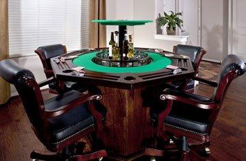 Hidden Bar in Poker Table