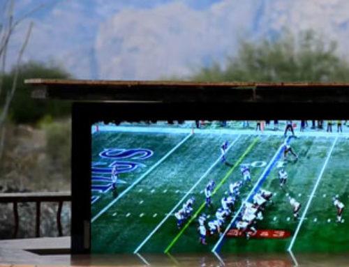 Hidden TV Redefines Backyard Entertainment