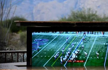 Hidden TV Redefines Backyard Entertainment