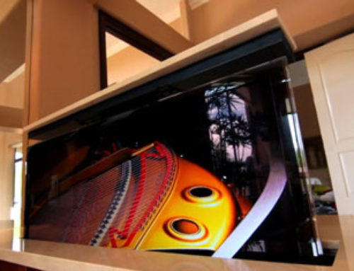 Homeowner and Cabinetmaker Talk About Their TV Lift Project
