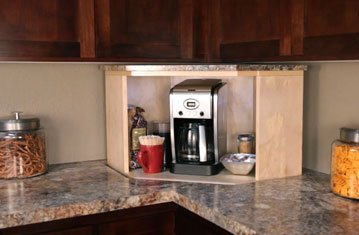 Kitchen Dead Corner Comes Back to Life