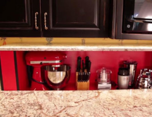 Kitchen Designer Wows Clients with Disappearing Cabinetry