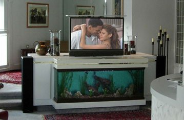 Tv Stand System Custom Tv Lift In Aquarium Nexus 21