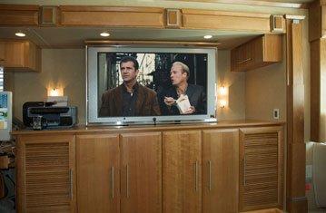 Luxurious Land Cruiser with Pop Up TV