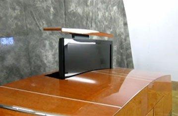 Nautical TV Lift Cabinet