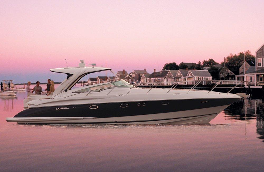 Pop Up Swivel TV Lift on Boat