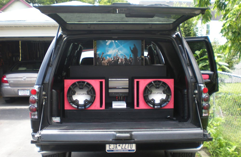 TV for an SUV: Custom Made SUV TV Lift