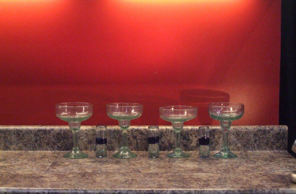 hidden bar best hidden bar rises from counter nexus 21. Black Bedroom Furniture Sets. Home Design Ideas