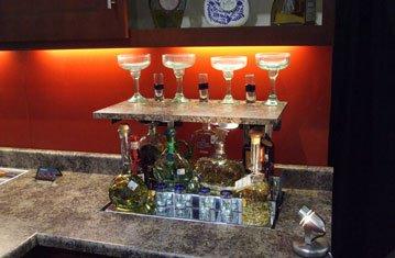 Hidden Tequila Bar Rises from Counter