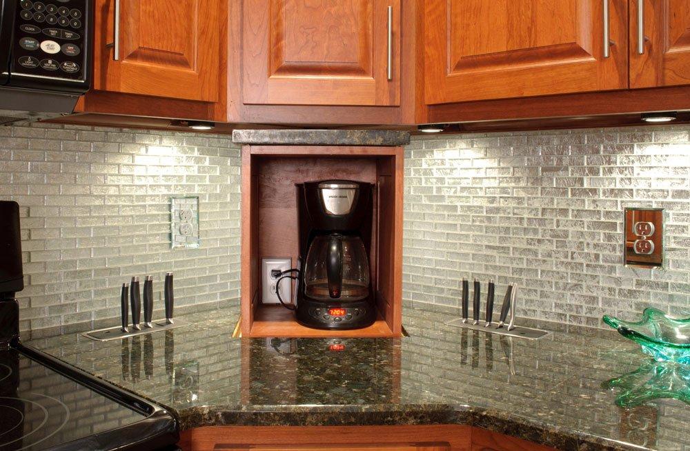 Appliance Lift in Kitchen