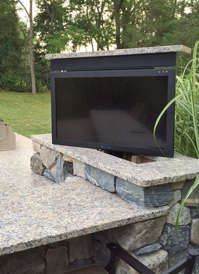 Outdoor Swivel TV