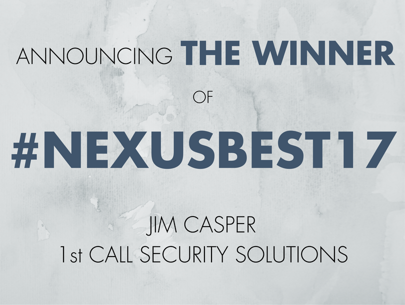 Announcing the Winner of #NexusBest17