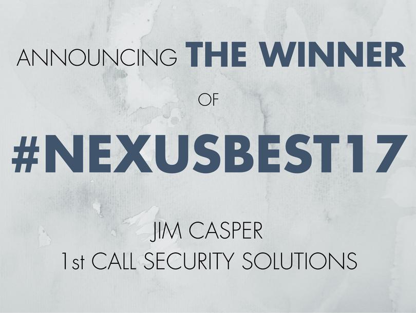 Announcing the Winner of #NexusBest17