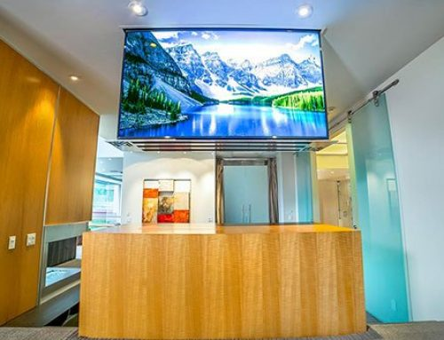 A Drop-Down TV Lift Adds a Unique Element to Any Room