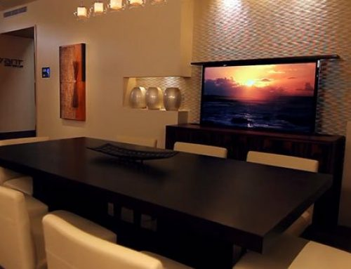 Pop-Up TV Lift Adds a New Dimension of Luxury
