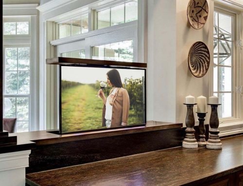 Creative Use of Space with a Pop-Up TV