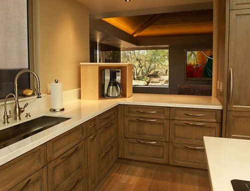 Making the Most of Counter Space with a Hidden Storage Lift